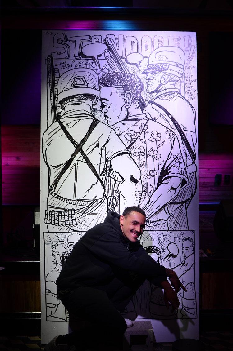 Langston Allston at Storyboards