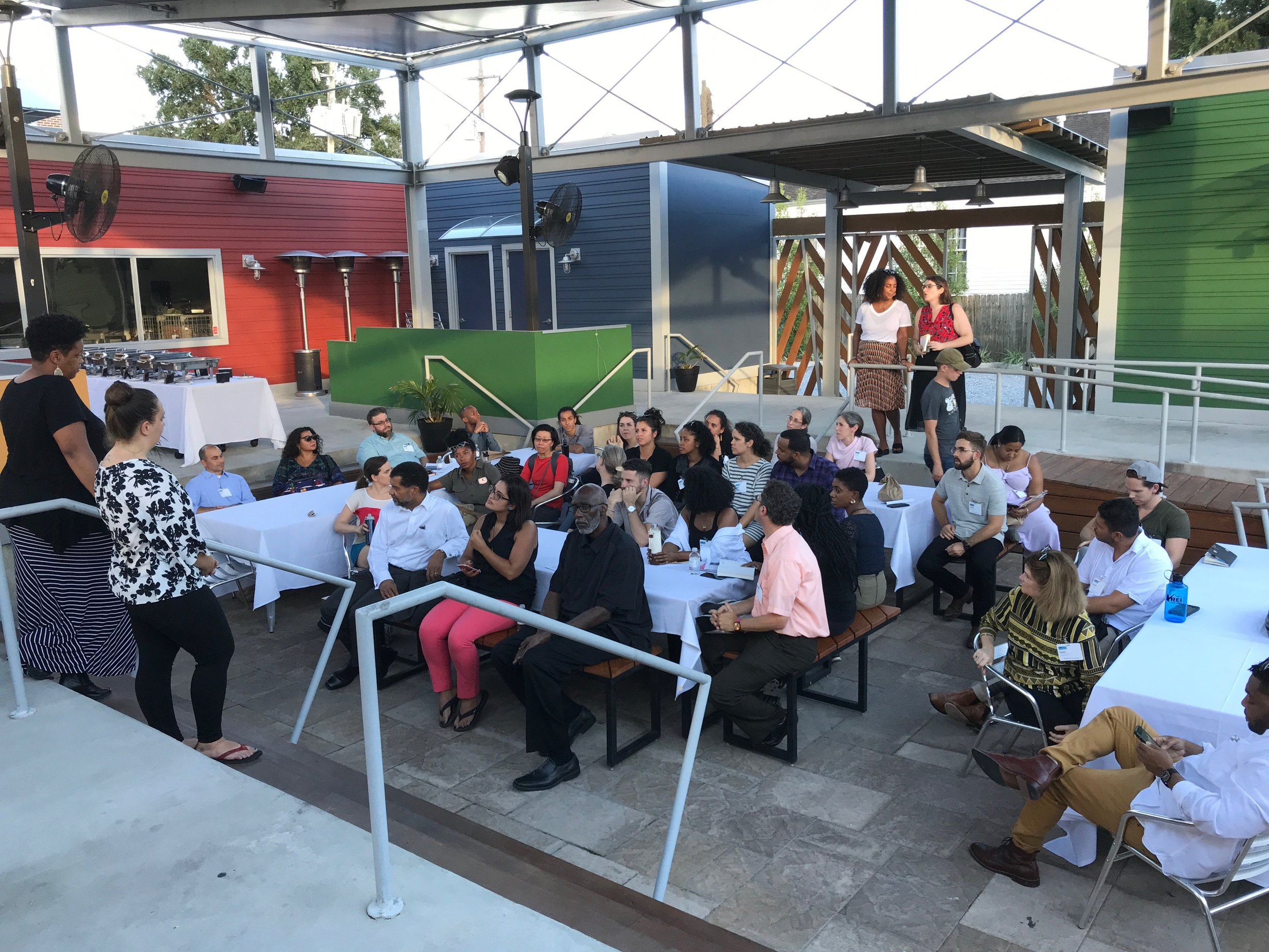 The 2018 Design Justice Summit Tour culminating at Roux Carré