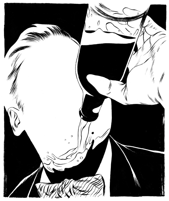 Cun Shi Illustration art inked 1