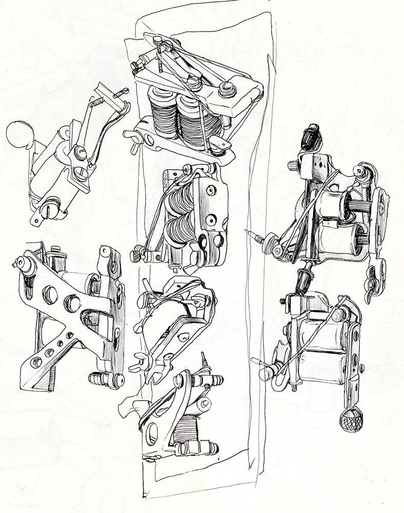 Cun Shi Illustration drawing 2