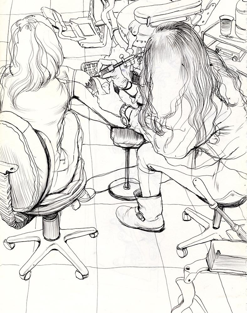 Cun Shi Illustration drawing 3