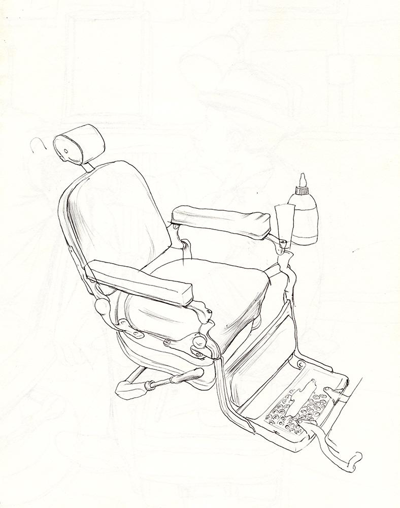 Cun Shi Illustration drawing 8