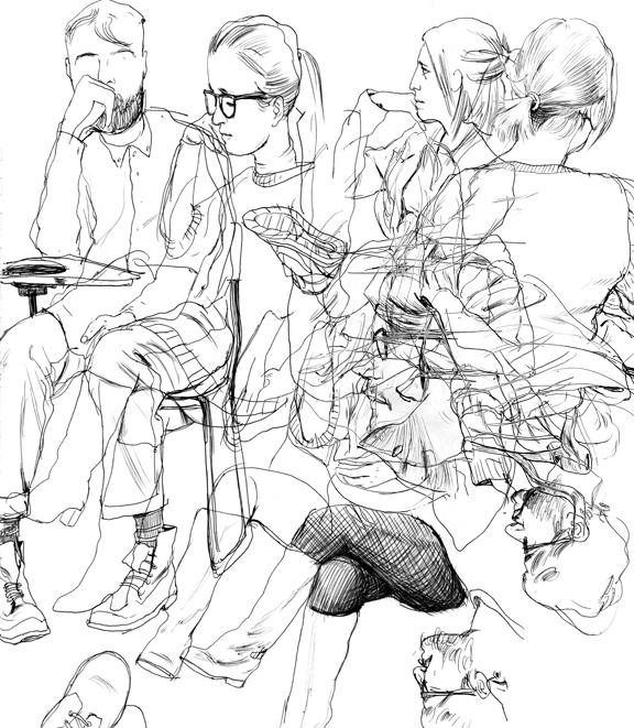 Cun Shi Illustration drawing 10