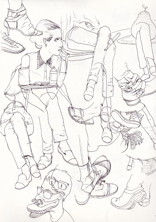 Cun Shi Illustration drawing 11