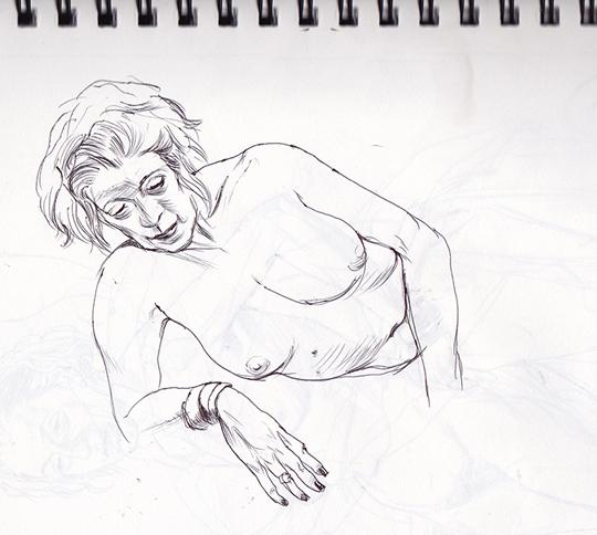 Cun Shi Illustration drawing 13