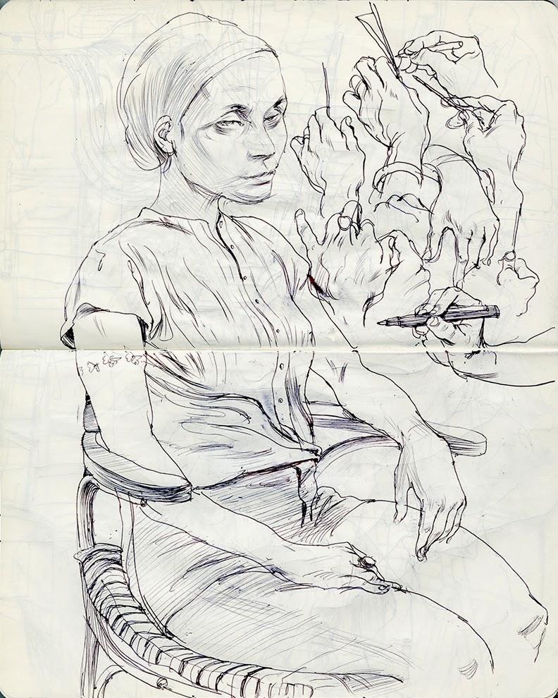 Cun Shi Illustration drawing 15