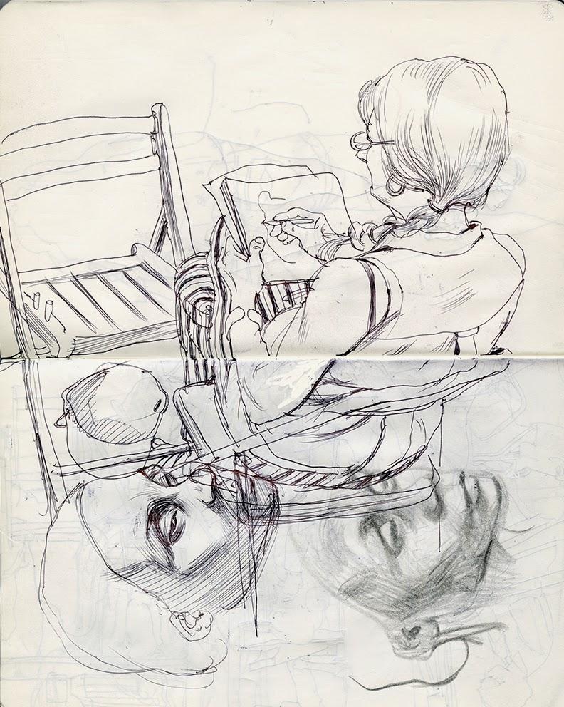 Cun Shi Illustration drawing 17