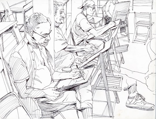 Cun Shi Illustration drawing 19
