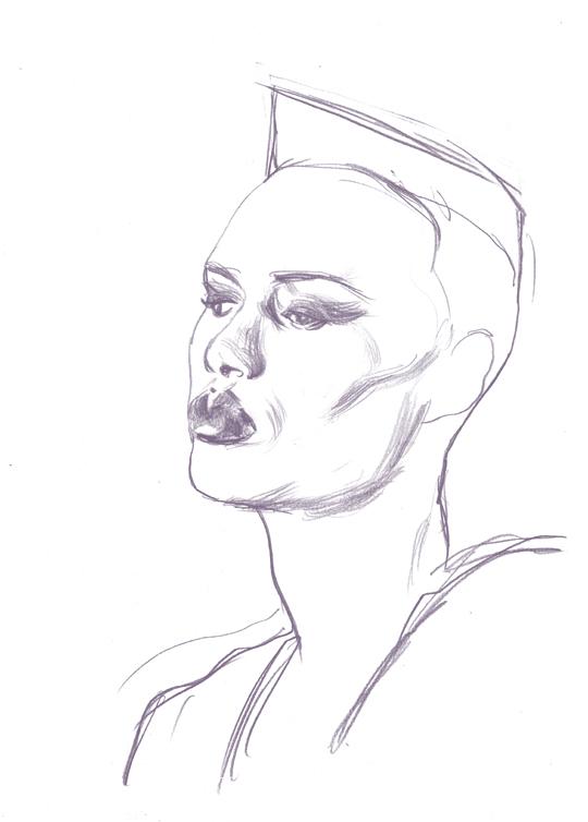 Cun Shi Illustration drawing grace