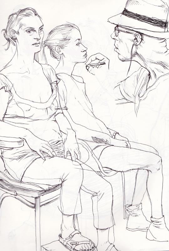 Cun Shi Illustration drawing models