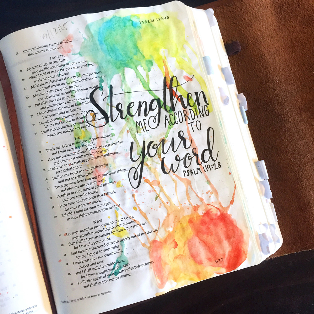 How to Start Bible Journaling — t His | Rock This Revival
