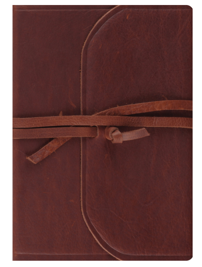 This is the ESV interleaved edition Bible. If you don't want to draw or make notes over Scripture, this Bible has a blank page between each page of Scripture.