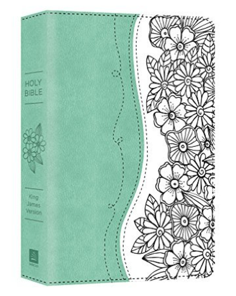 This is the double column King James version journaling Bible.