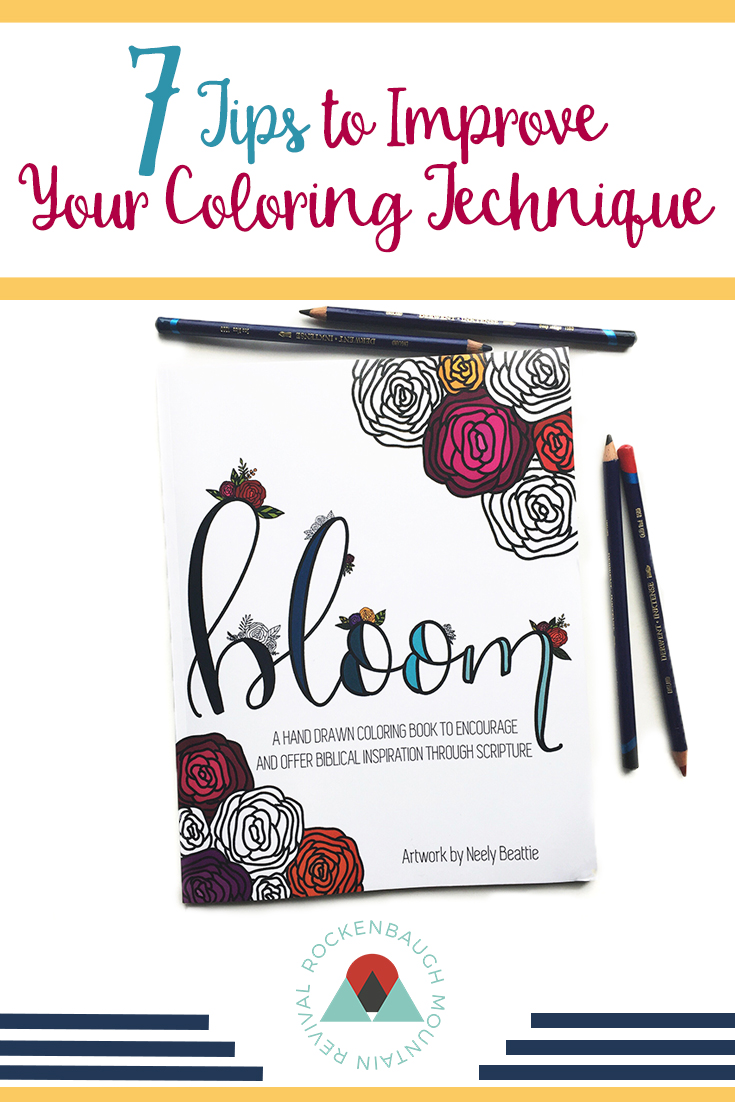 If you're looking to improve your coloring techniques when you're creating art in your coloring books, here are 7 tips to improve your coloring pages!