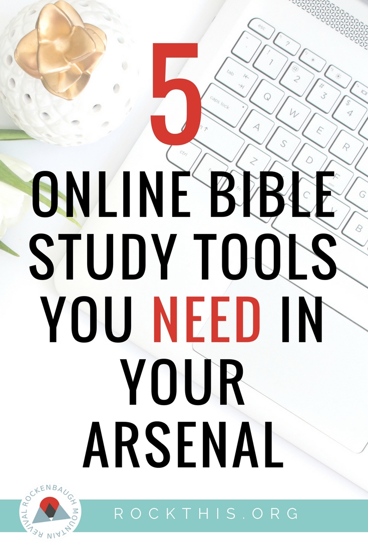 Online Bible Study Tools That Will Help You Understand the