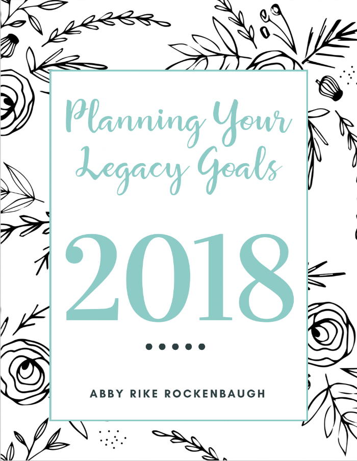 Setting Goals | Planning your legacy