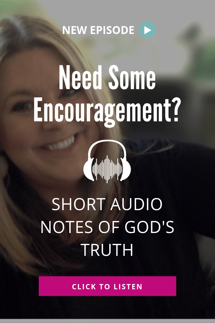 Short on time but want to grow in your faith? Check out these short audio notes filled with God's truth. #rockthisrevival #faith #podcast #Christianpodcast