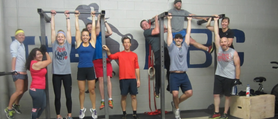 """Just """"hanging out"""" at Adam Harris Fitness"""