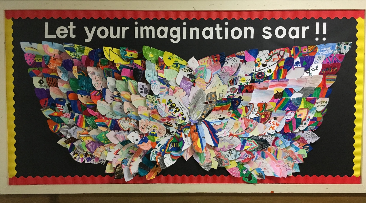 Created by all students at Johnson Elementary School
