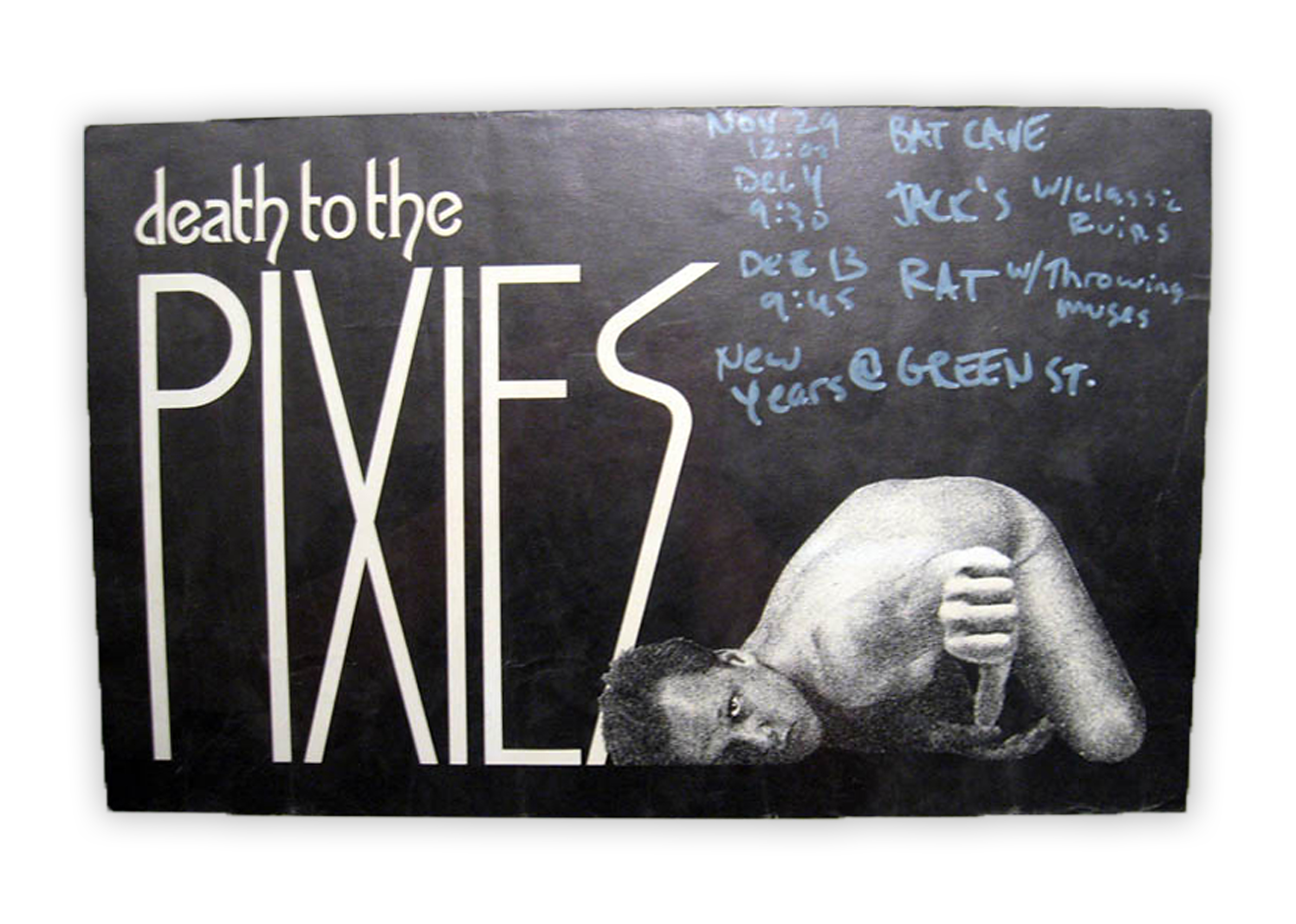 """""""The Pixies are probably my favorite band. They're music has certainly had the most impact, besides perhaps the Velvet Underground, on so many of the great rock acts that followed. I just really want to preserve a little part of that history."""" Mussell said."""