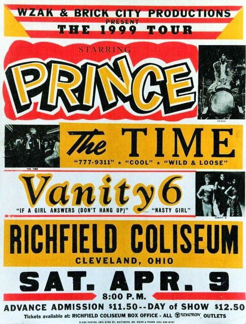 If you have an original advertising poster promoting a Prince concert that occurred before 1985 contact Mussell at 515.707.7250 or srmussell@me.com.