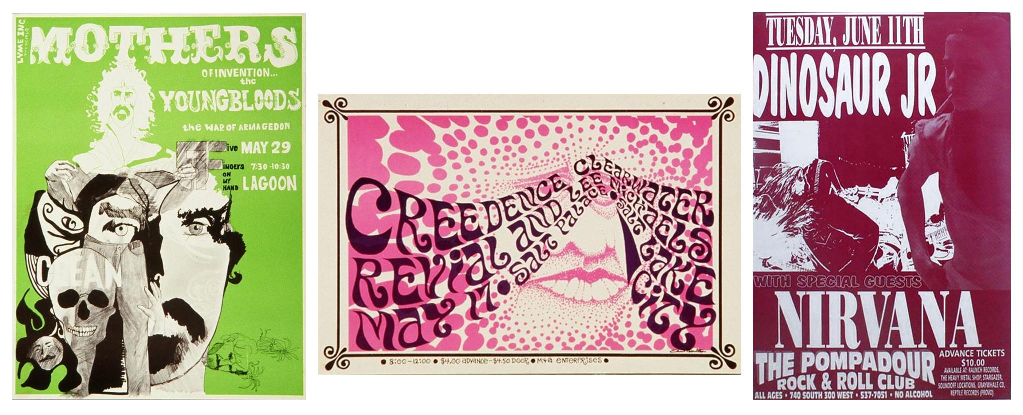 "Salt Lake City 11 x 14/"" Photo Print Led Zeppelin Concert Poster"