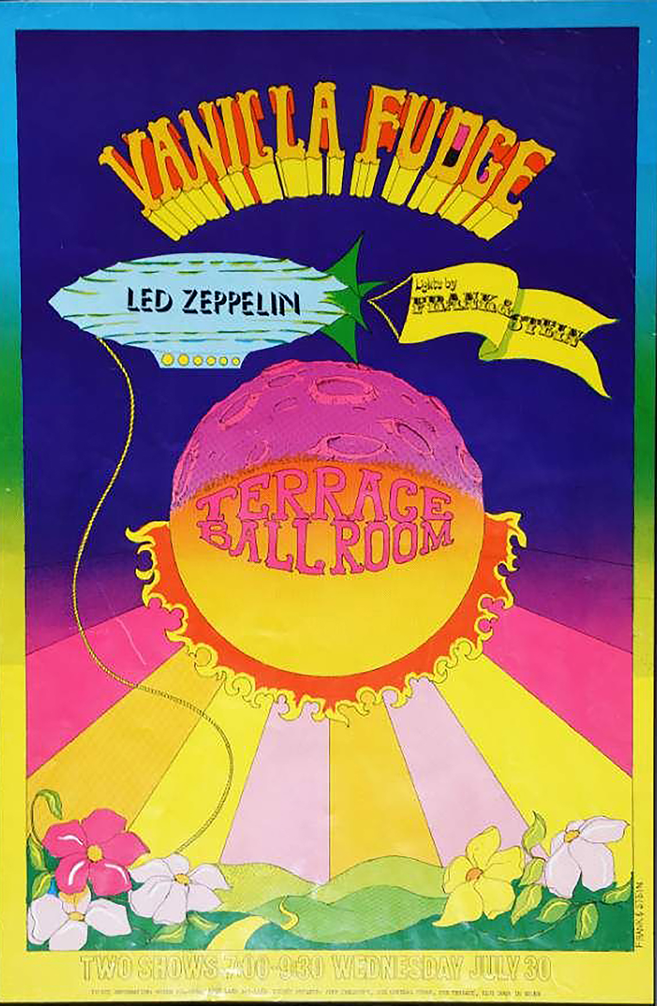 Mussell is seeking this Zeppelin concert poster in any condition from the bands 1969 appearance at the Terrace Ballroom in Salt Lake City, Utah. If you have this or other concert posters from the area contact Mussell at 515-707-7250 or srmussell@me.com