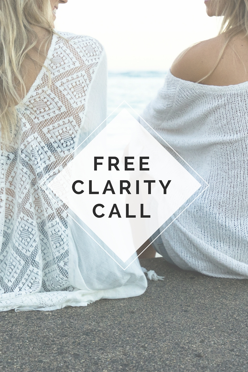 Interested in learning how a coaching series can assist in actualizing your goals?     Do you want to know if I'm the right coach to help, guide and support you in achieving them?   Book your   FREE   30 minute clarity call to discuss what you most want to get out of coaching and to see if we're a good fit.