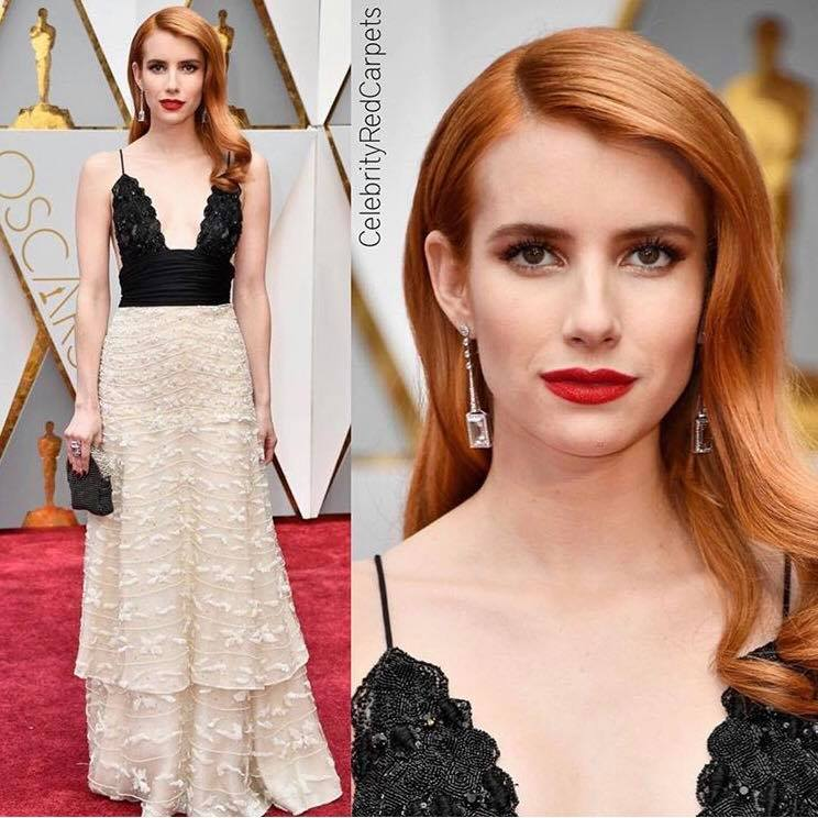 Emma Roberts - Old Hollywood glam