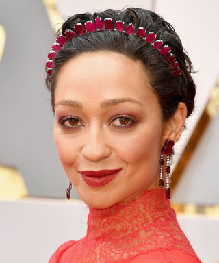 Ruth Negga - Her soft blown-out cranberry eyeshadow was soft enough to perfectly compliment her gorgeous matte red lips without competing for attention.