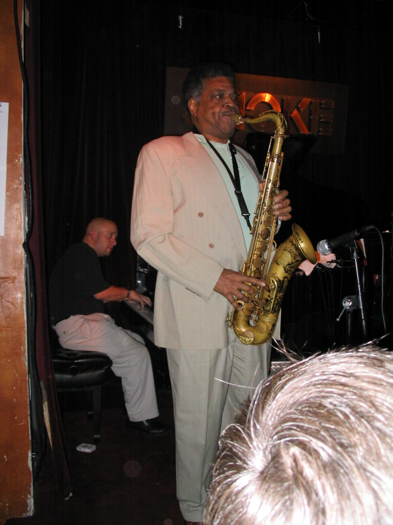 Javors with George Coleman.JPG