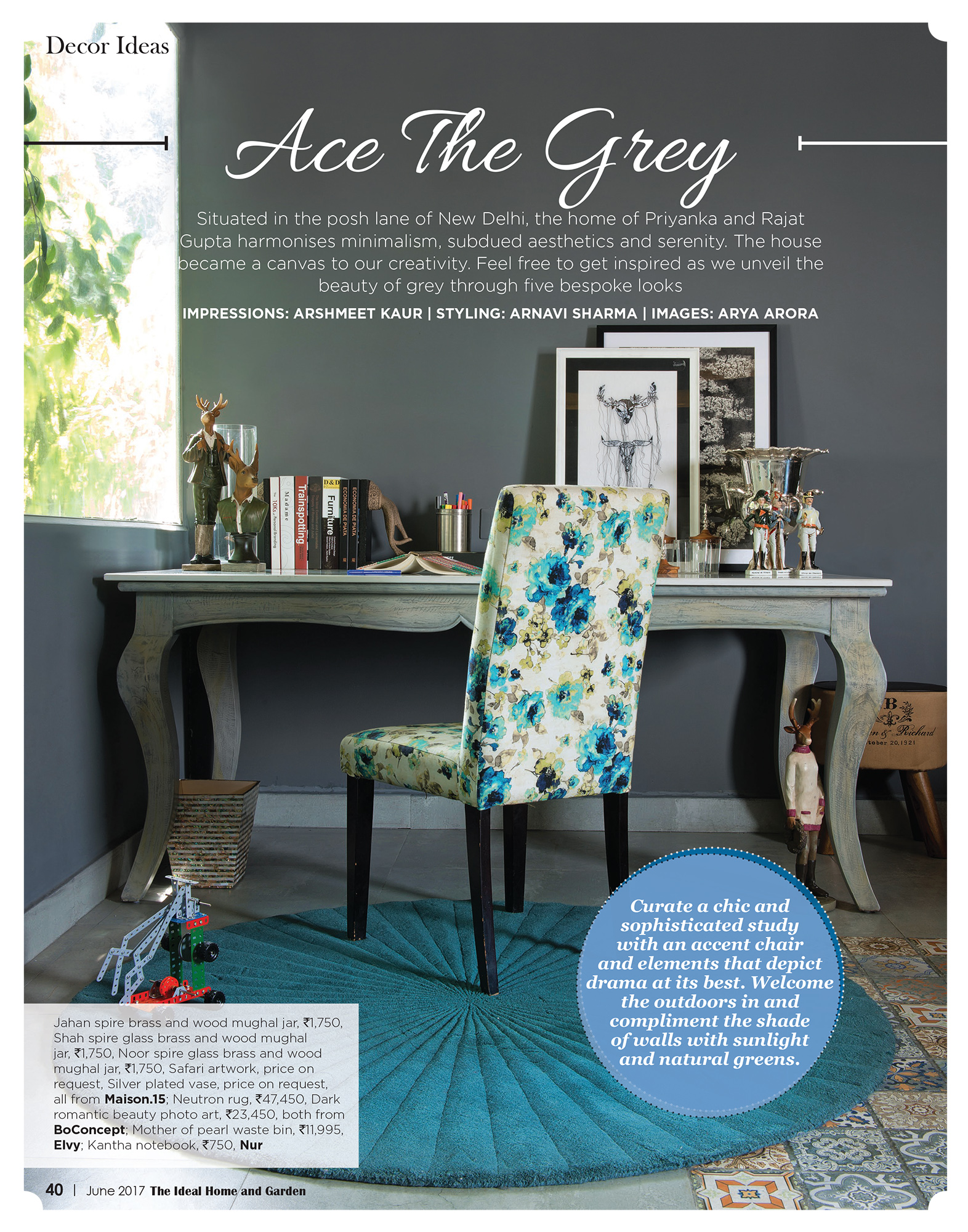 Ideal Homes - Ace the grey