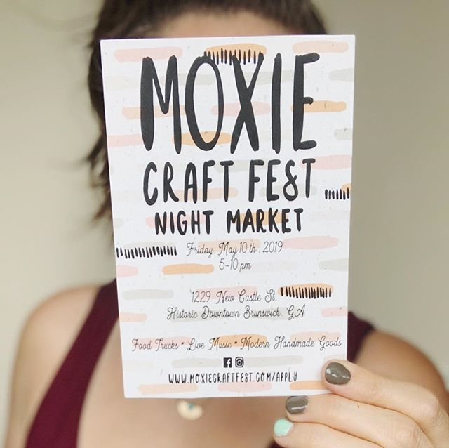 ✨5️⃣ Day countdown to my favorite night market eva!✨ Who all is coming to hangout and shop @moxiecraftfest this Friday night from 5-10?! 🙋🏻‍♀️🙋🏻‍♀️🙋🏻‍♀️ It's Mother's Day weekend so come get mom something special and made with love and while you're at it treat yourself too! 🧡✨ . . . . . #moxiecraftfest  #makersgonnamake #wesupporteachother #makermade #creativemind #creativebusiness #smallbusinesssupport #supportsmallshops #supportsmallbiz #localartists #locallymade #locallove #makersofinstagram #meetthemaker #showsomelove #makermood #creativepreneur #makerspace #smallbusinessowners #handcraftedwithlove #madewithlove #supporthandmade #madeingeorgia #laboroflove #smallbusinessfriends #welifteachotherup #shoplocal #supportlocalbrand #localsonly #shoplocalga
