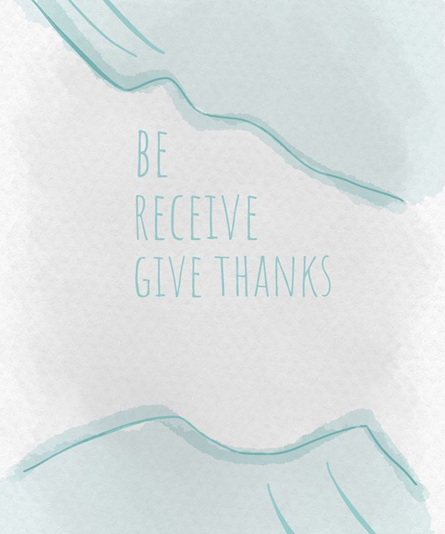 🔅Be. Receive. Give thanks. 🔅 We are taking time to just be. Taking time to receive the energy I put out into the world and giving thanks to every thing, every instance, and every person that comes my way. It's a simple act but a mighty one and truly lets you remain present in this moment. 🔅 Be. Receive. Give thanks. 🔅