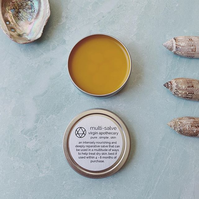 🔅Multi-salve magic🔅 This stuff saves my hands at work as I am a server and wash my hands more times than I can count. If you're a chef, farmer, gardener, maker, nurse.... basically if you use your hands and they get messed up, dry, cracked, and busted this salve is for you! I have a few listed in the shop and if you sign up for my newsletter you get a 15% off discount code! 🔅