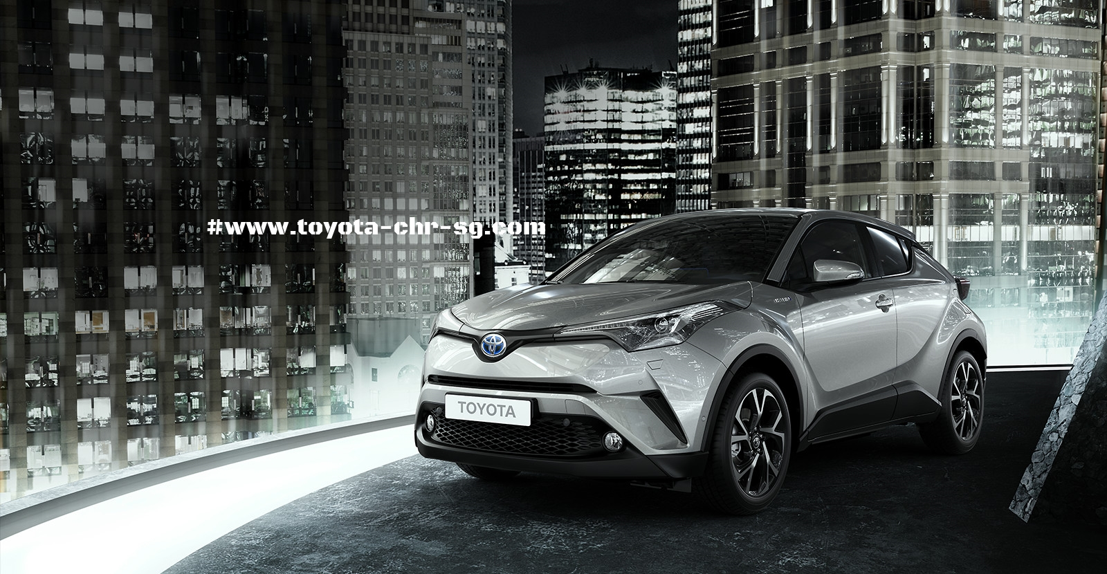 Toyota C-HR Front View