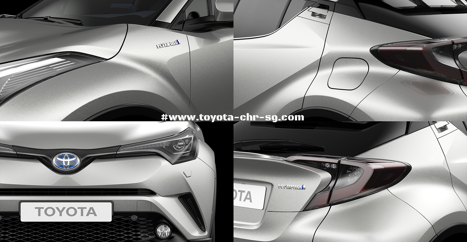 Toyota C-HR Overall Exterior
