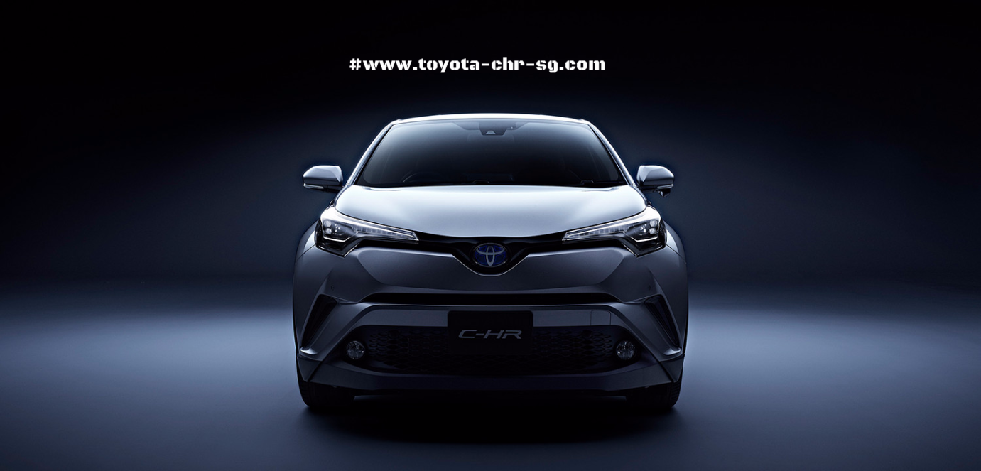 Toyota C-HR Front Profile
