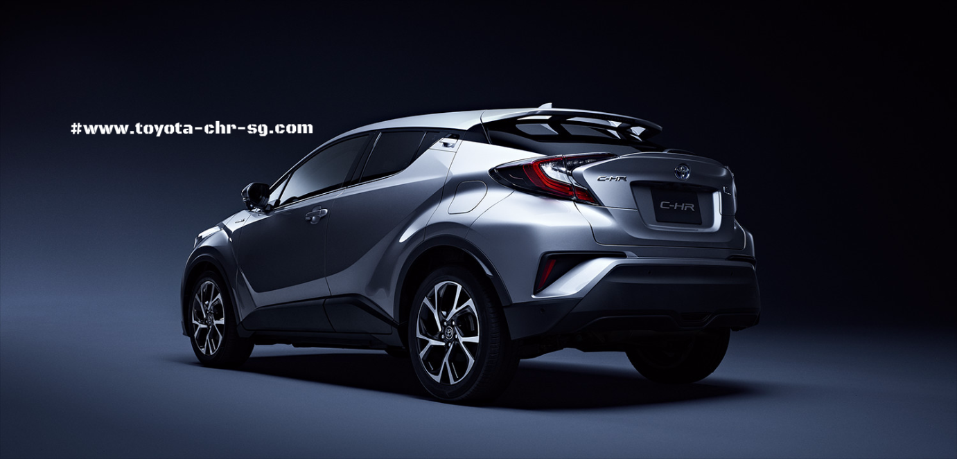 Toyota C-HR Rear and Side Profile