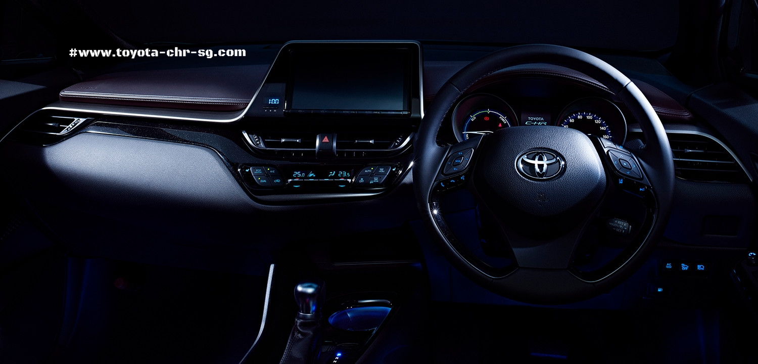 Toyota C-HR Steering with Dashboard