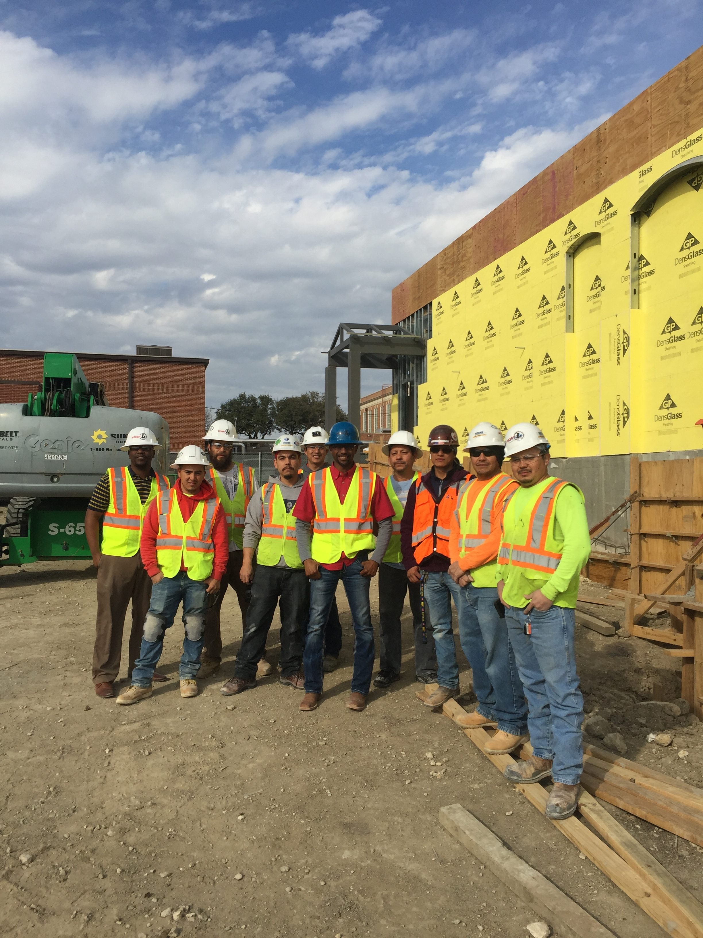 JEFFERY POSTELL AND THE PLG FIELD TEAM