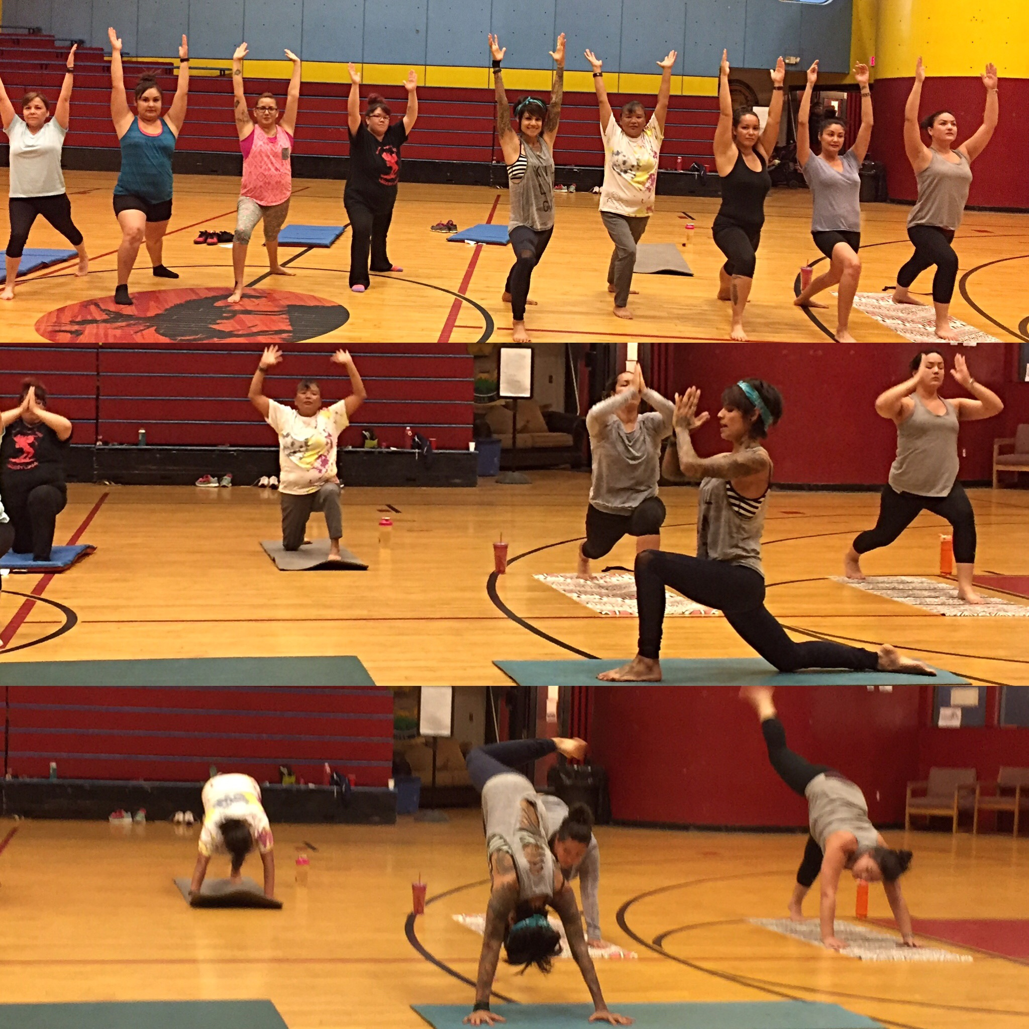 I really enjoyed teaching Yoga this week out at the Colville Indian Reservation, I plan to keep working with this great group of women.