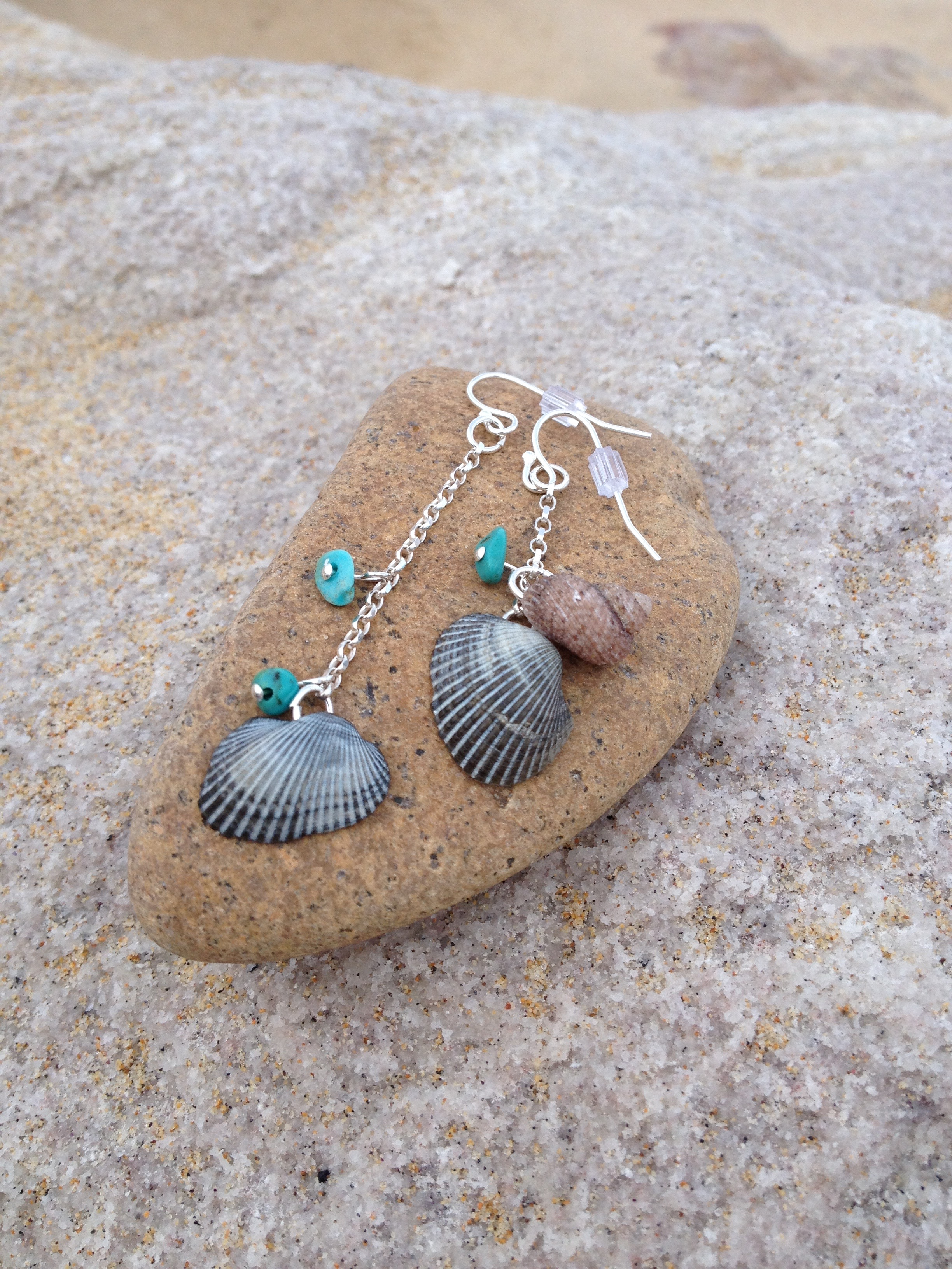 Byron Bay Earrings with Turquoise