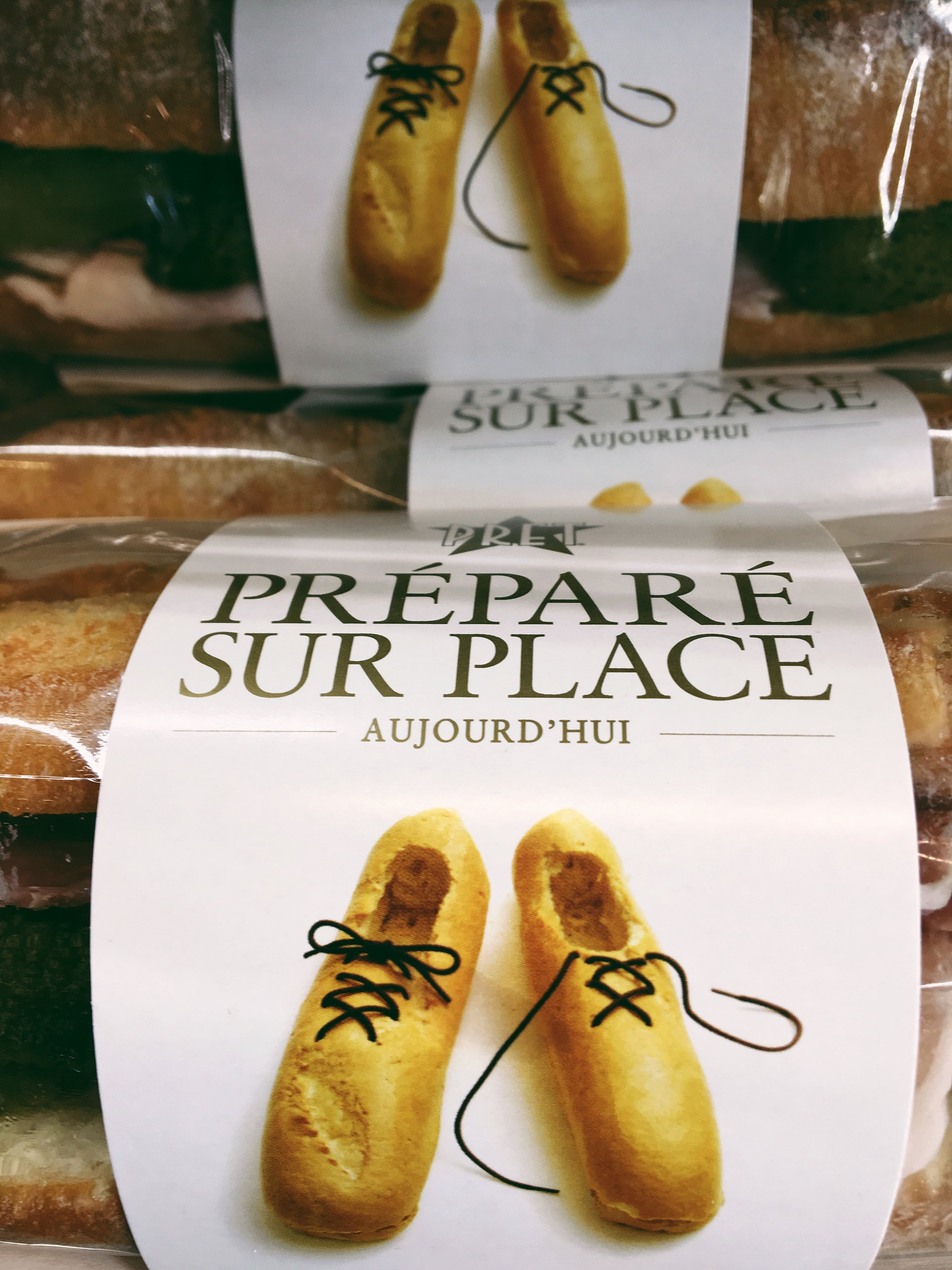 I couldn't not include this. Baguette shoes. The cleverness!