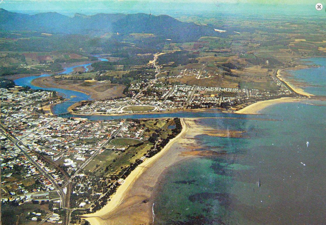Aerial view of Ulverstone