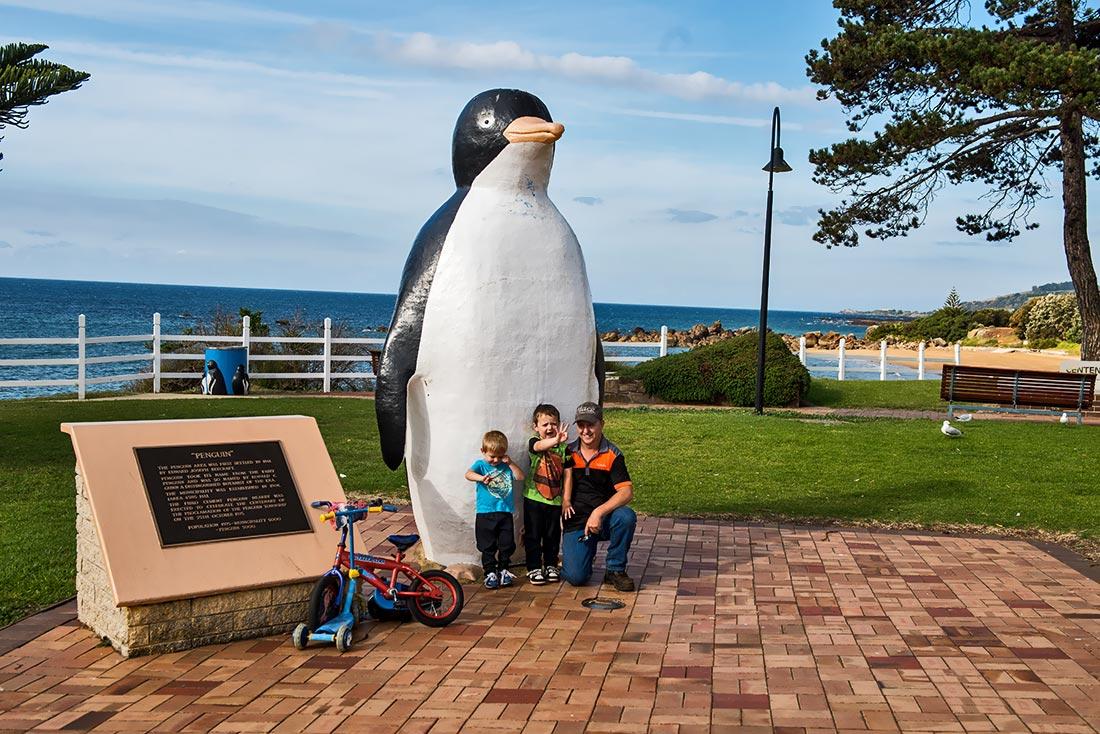 the big penguin