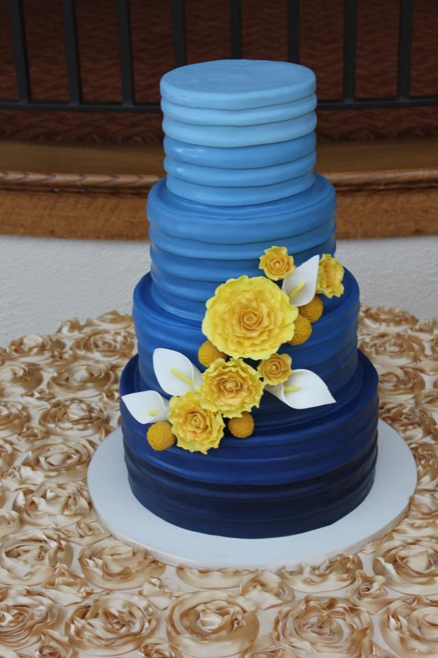 Responsible for handmaking the flowers out of Sugarpaste