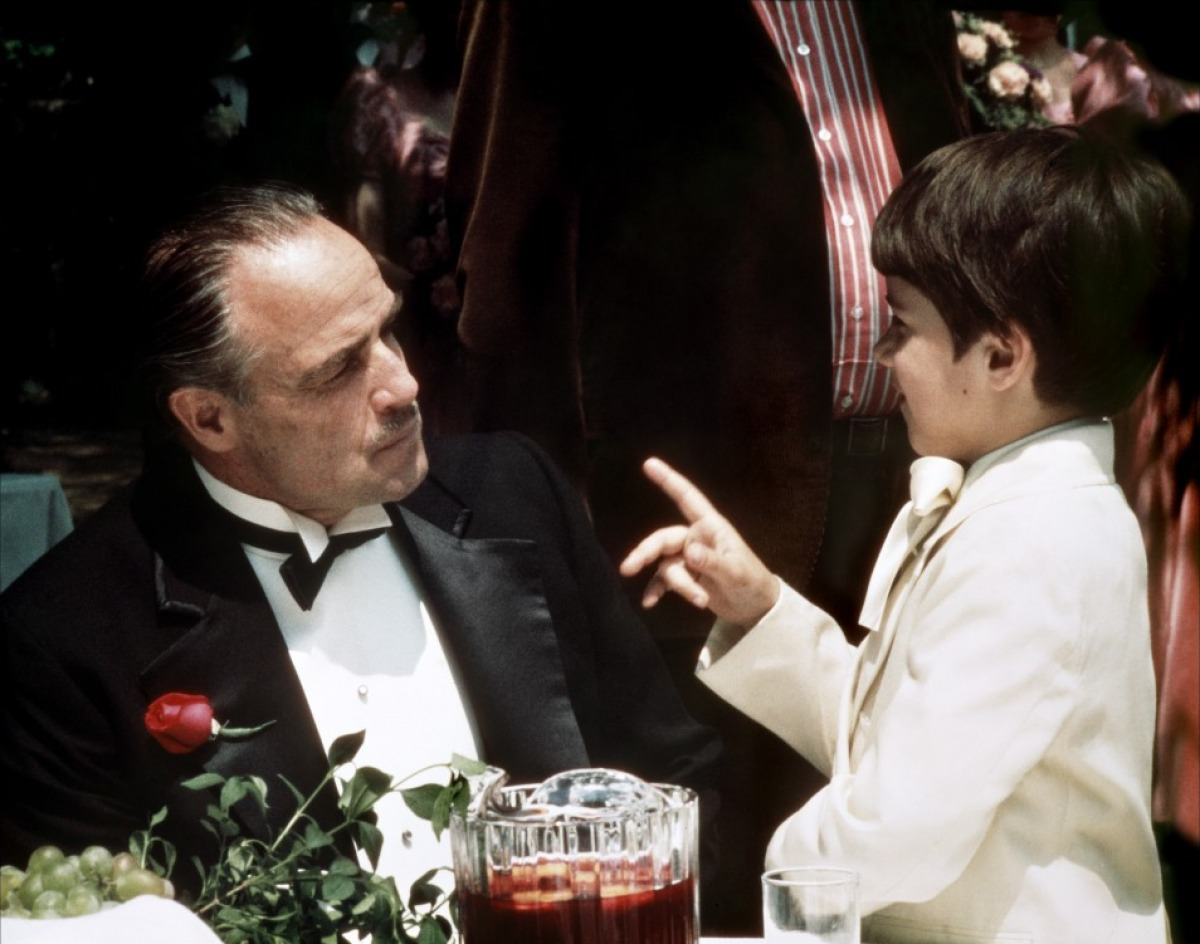 Family comes first for Don Vito Corleone in The Godfather.