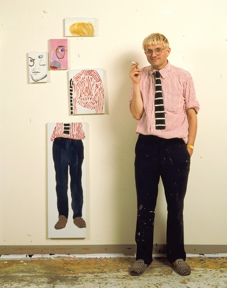David Hockney: A study in contrasts.