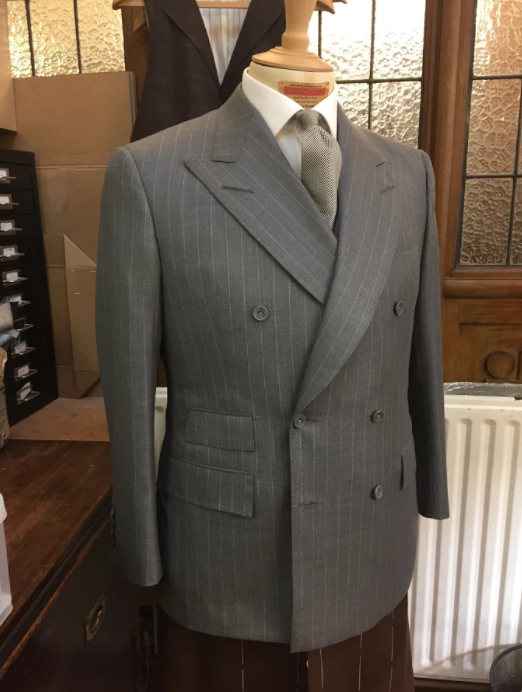 A sample of Steven Hitchcock's super sharp yet fantastically soft'n'supple tailoring.